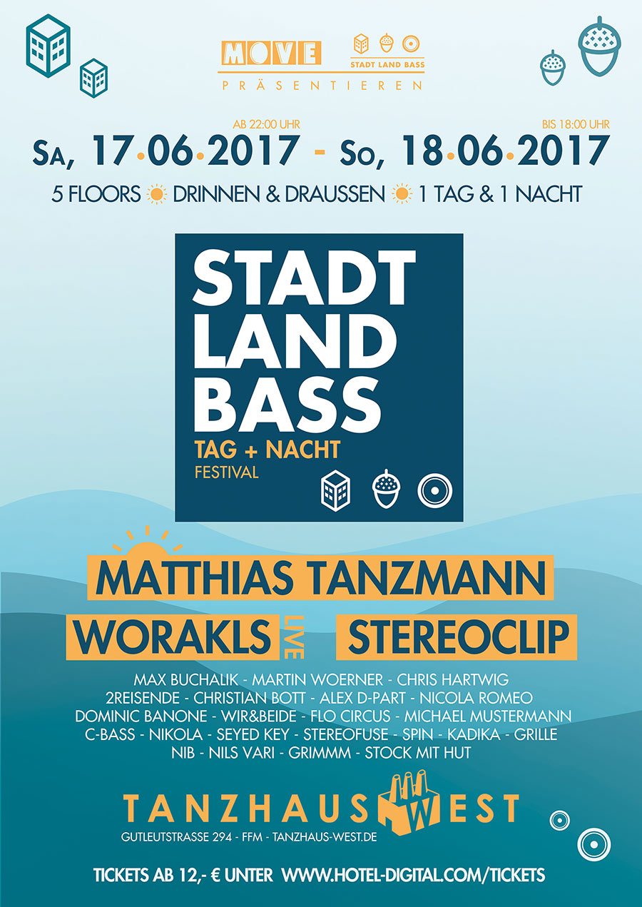 Stadt Land Bass PreParty Warmup